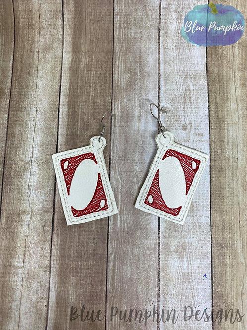 Card Game Earrings