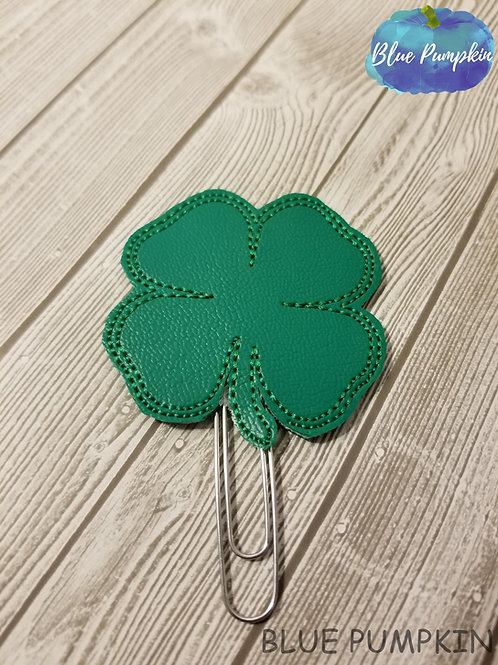 Shamrock Paper Clip Toppers