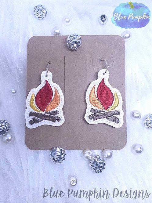 Camp Fire Earrings