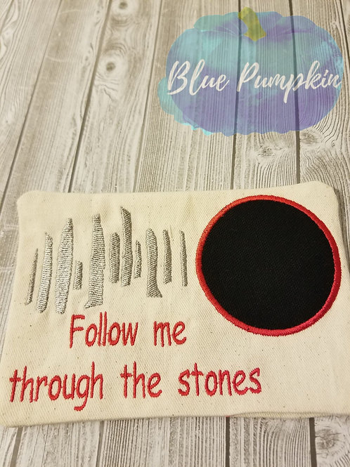 Follow Me Through the Stones Mug/Snack Mat