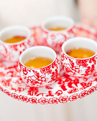 Cérémonie de thé chinois