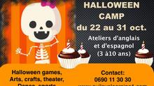 HALLOWEEN CAMP- (ateliers d'anglais et d'espagnol)- Public : 3 à 10 ans