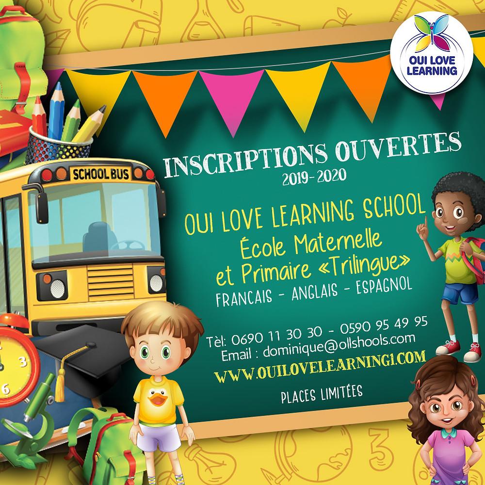 ECOLE TRILINGUE OUI LOVE LEARNING SCHOOL
