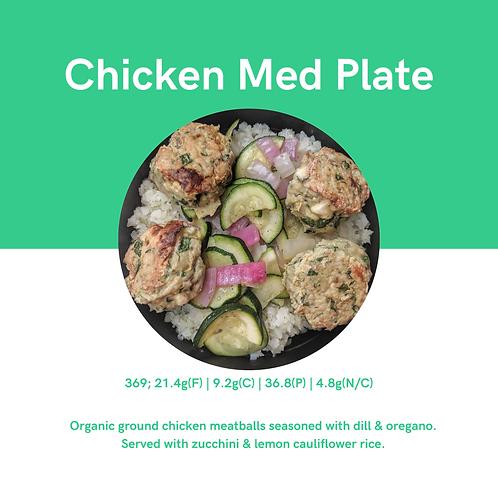 Chicken Med Plate