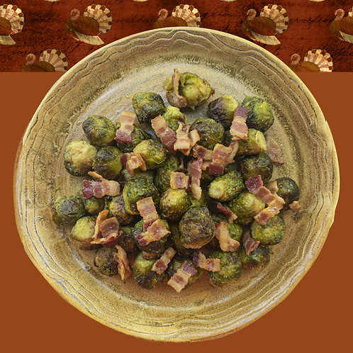 Brussels Sprouts w/ Bacon