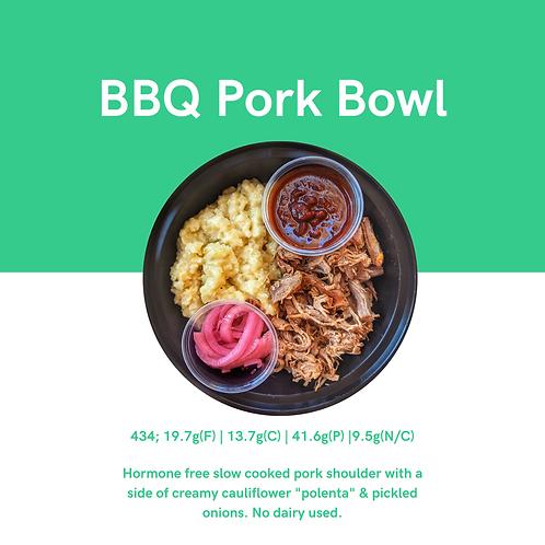 BBQ Pork Bowl