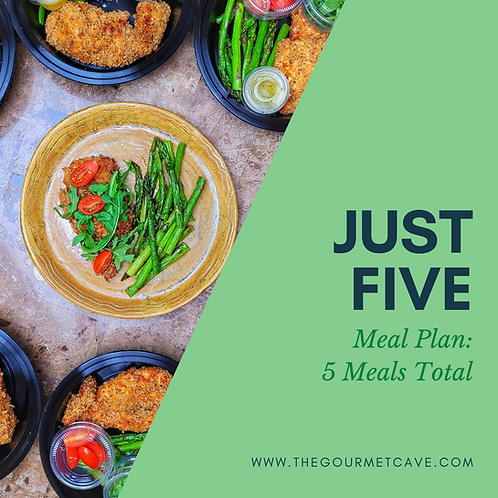 Just Five Meal Plan