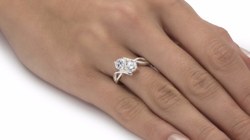 rings two diamond bypass ring fashion under wedding images pinterest settings stone and on jewels in engagement best gold rose