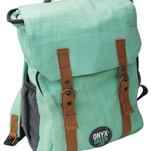 Mint Green School Backpack by Onyx & Green