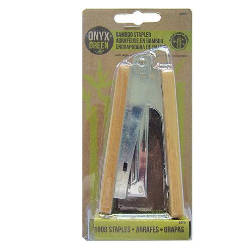 bamboo stapler