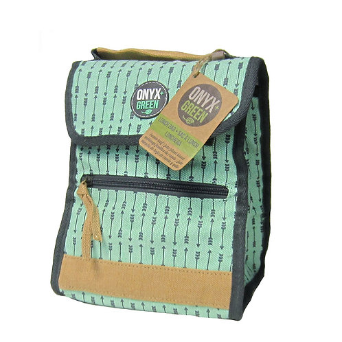 Green Foldable Insulated Lunch Bag