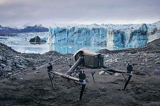 Drone_at_Breiðamerkurjökull_Photo_by_Kie