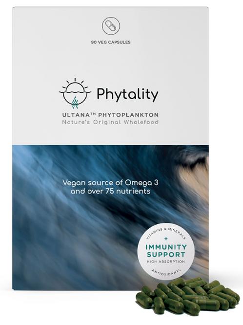 90 caps of Ultana Phytoplankton 90 V-caps