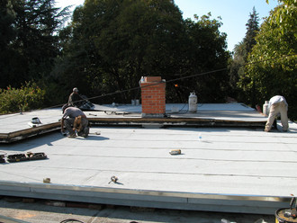 Residential Roof - Before