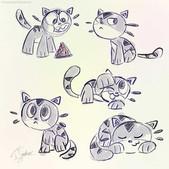 Chomp Kitty Sketches 2