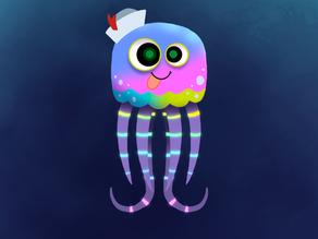 Super Slow Jellyfish