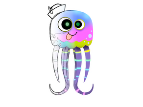 Superfast Jellyfish Animation Process