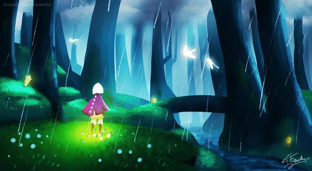 Sky Hidden Forest