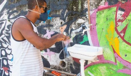 Coronavirus in the Life of Favelas Pt.9 Poetry and Public Sinks to Fight the Pandemic in Providência