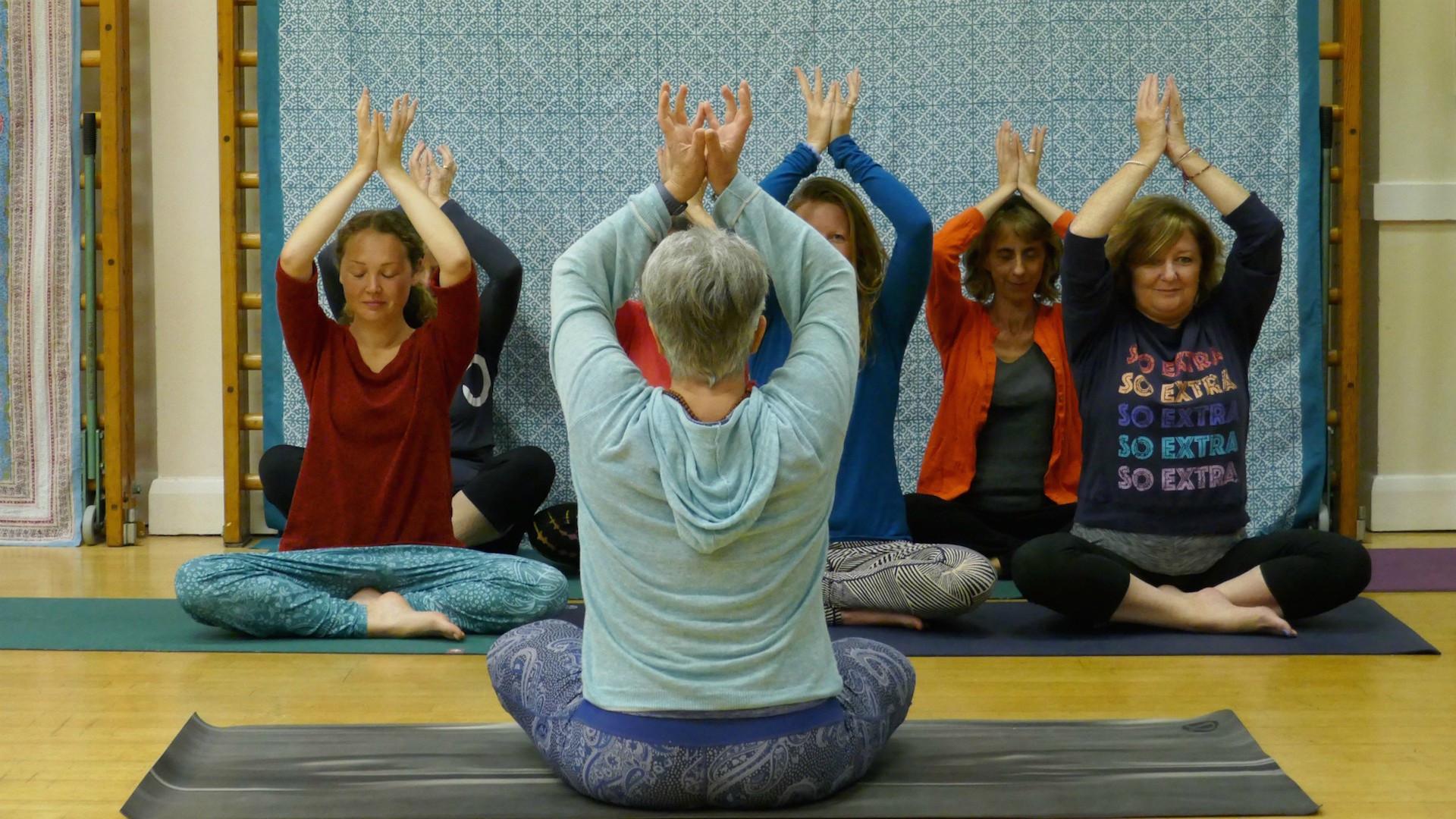 Friday Morning Online Hatha Yoga