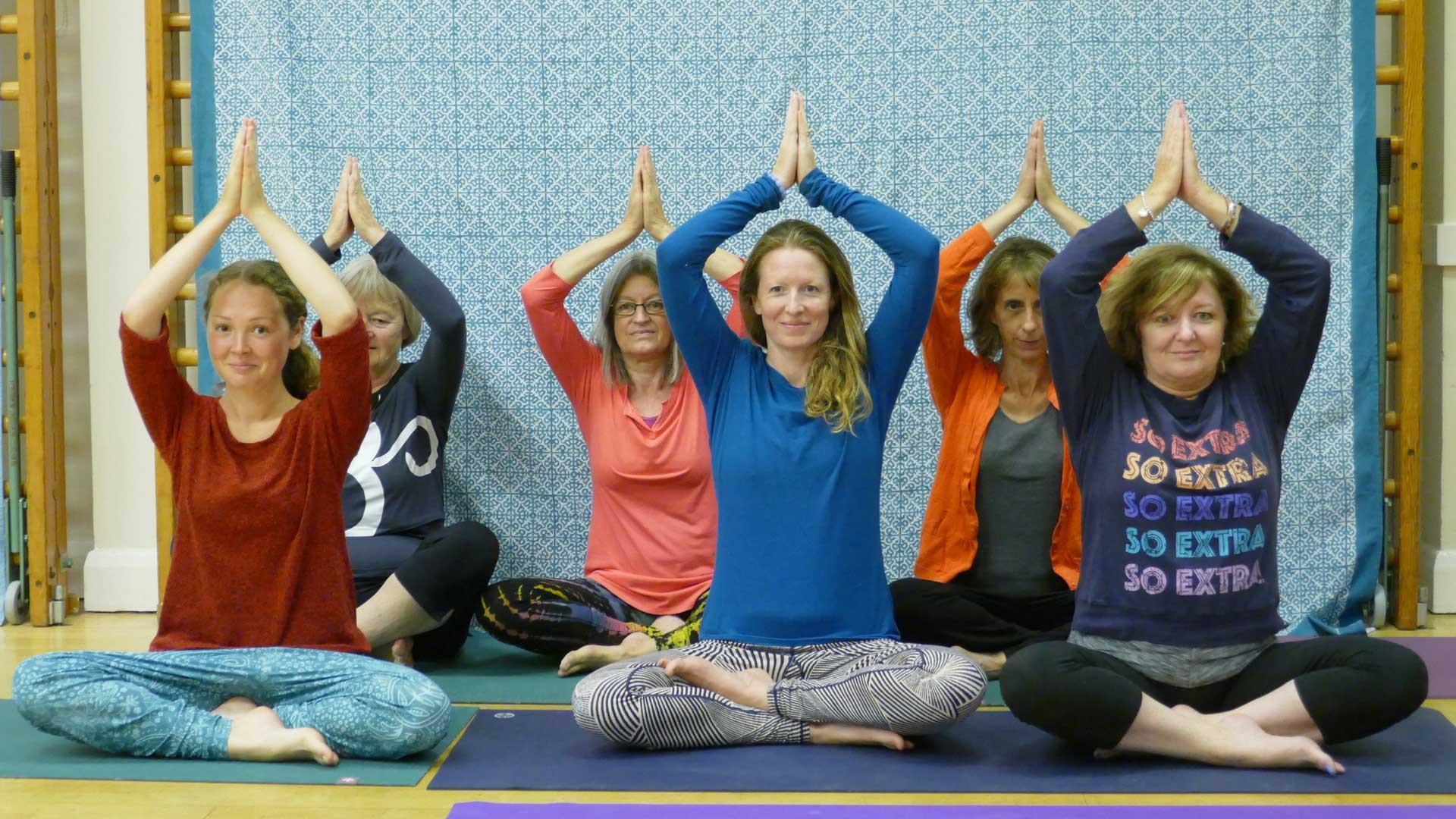 Monday Morning Online Hatha Yoga