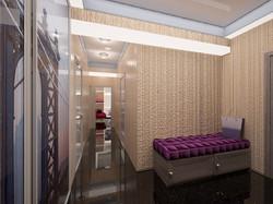 Дизайн интерьера прихожей комнаты