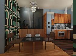 Кухня столовая,  FD