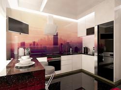 дизайн современной кухни в Одессе