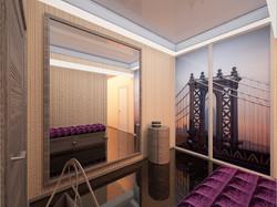 Дизайн освещения прихожей в Одессе