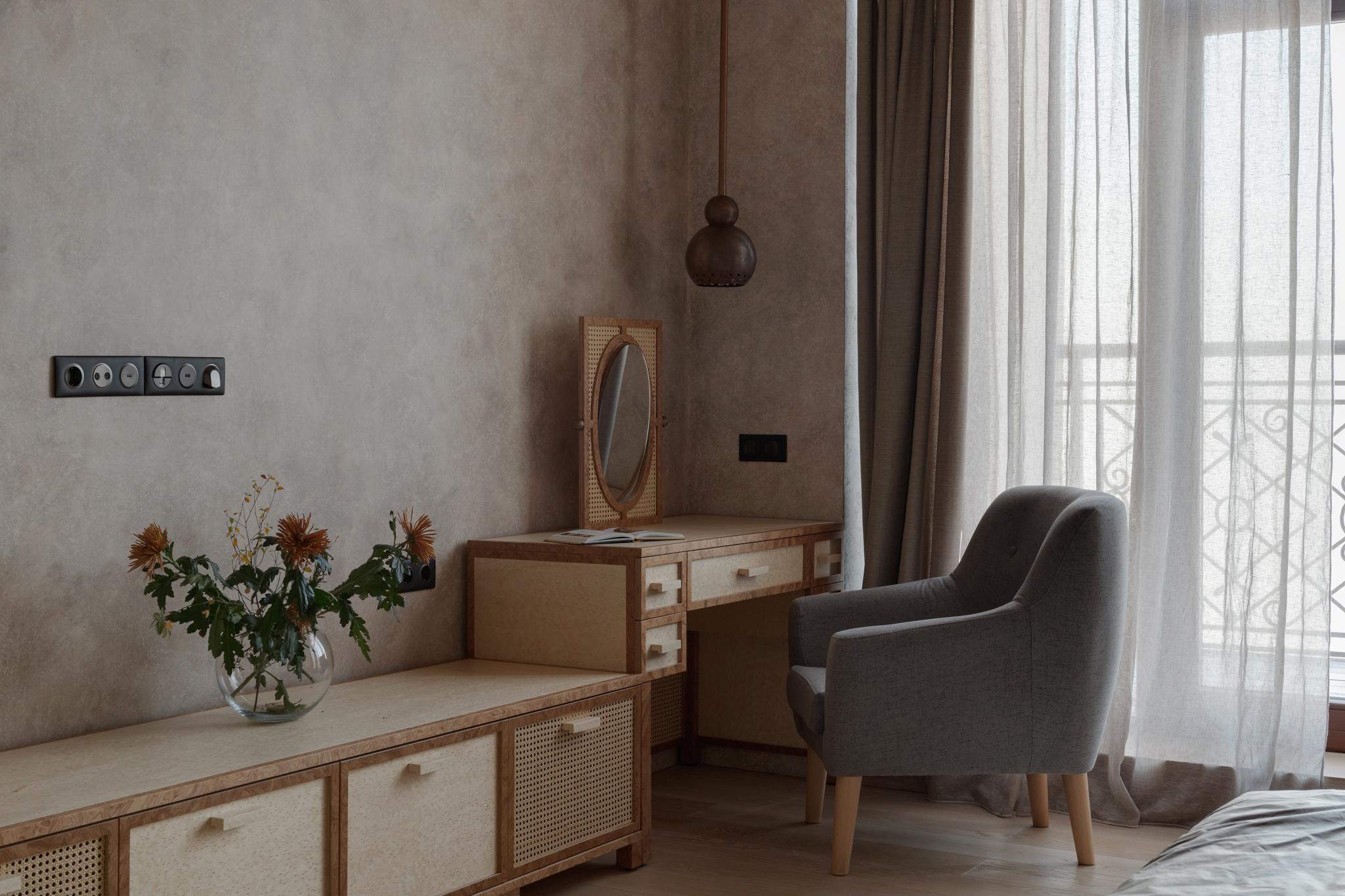 Мебель из фанеры и натурального ротанга