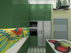 Кухня в стиле Hi tech, FD