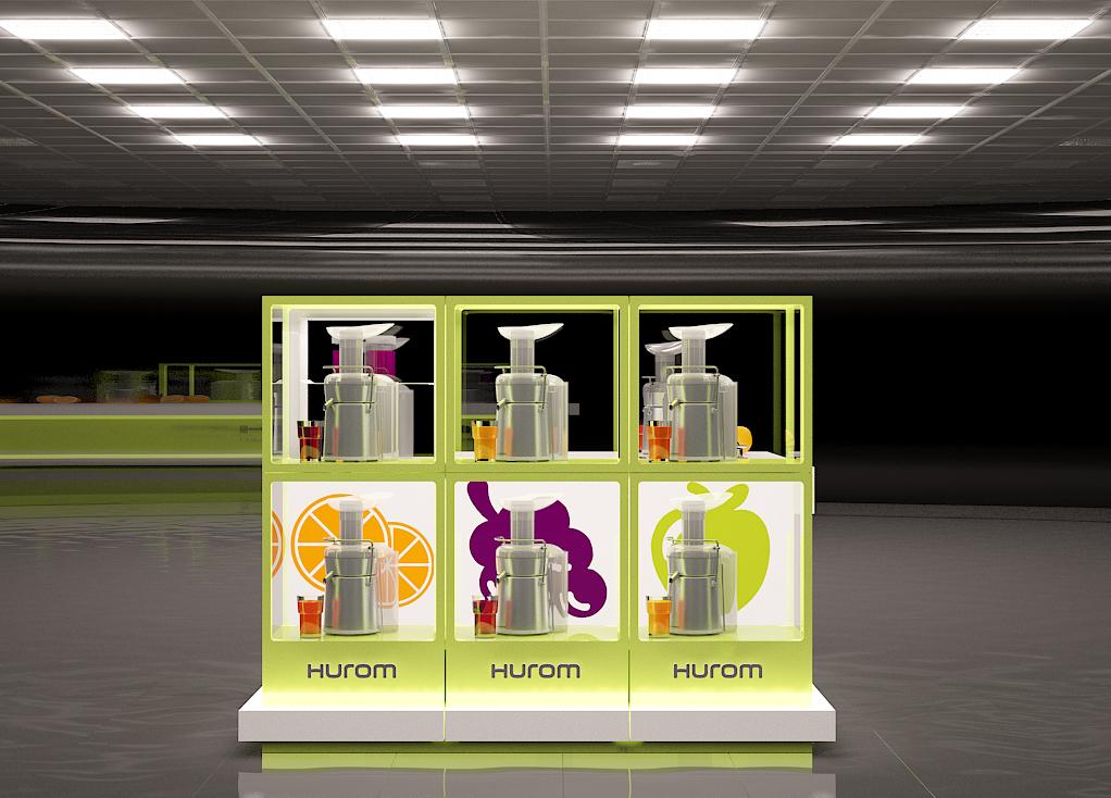 новый дизайн Соко-точки Торговой Марки Hurom