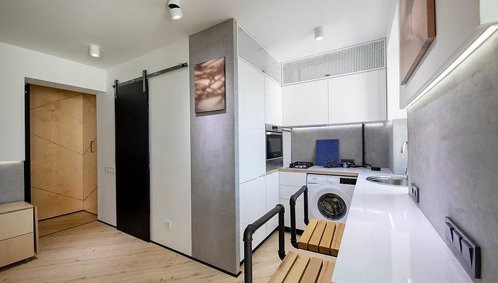 Дизайн интерьера маленькой квартиры - трансформер в Одессе от Forest Design