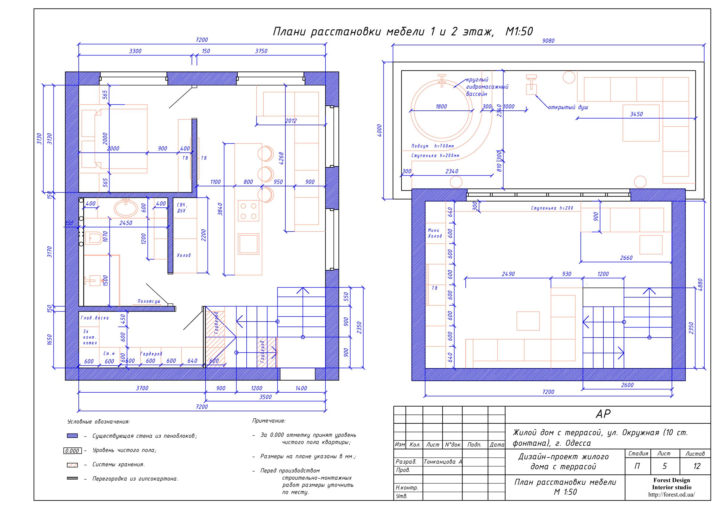 6-план расстановки мебели