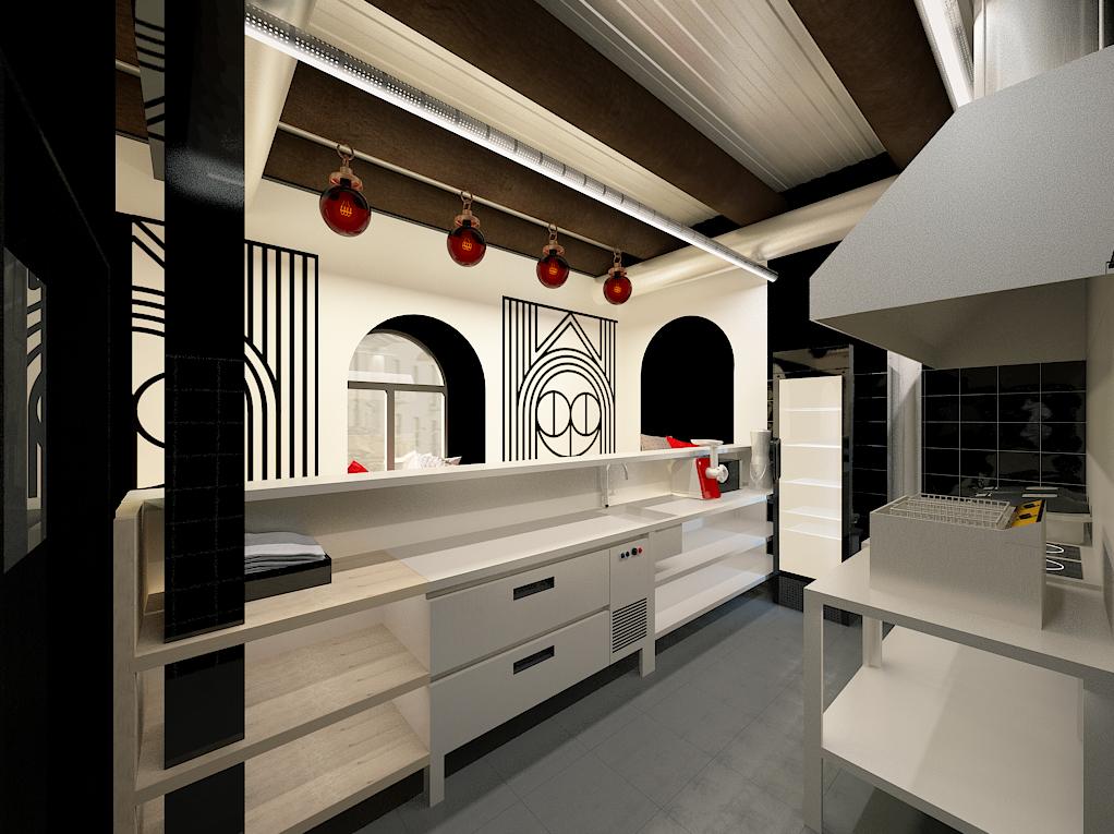 Interior design Japanese restaurant
