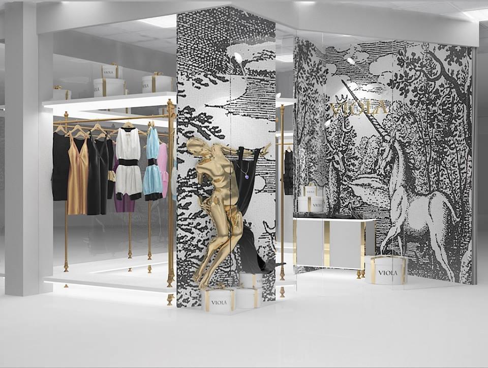 Брендинг и дизайн интерьера бутика