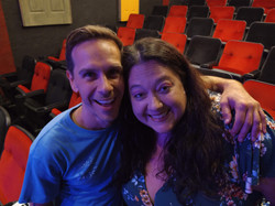 Jonesy and Lisa at Oh My Ribs!