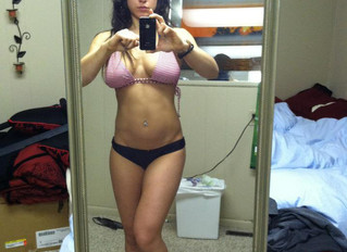 Women bulking from heavy lifting?