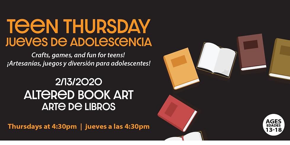 Teen Thursday: Altered Book Art