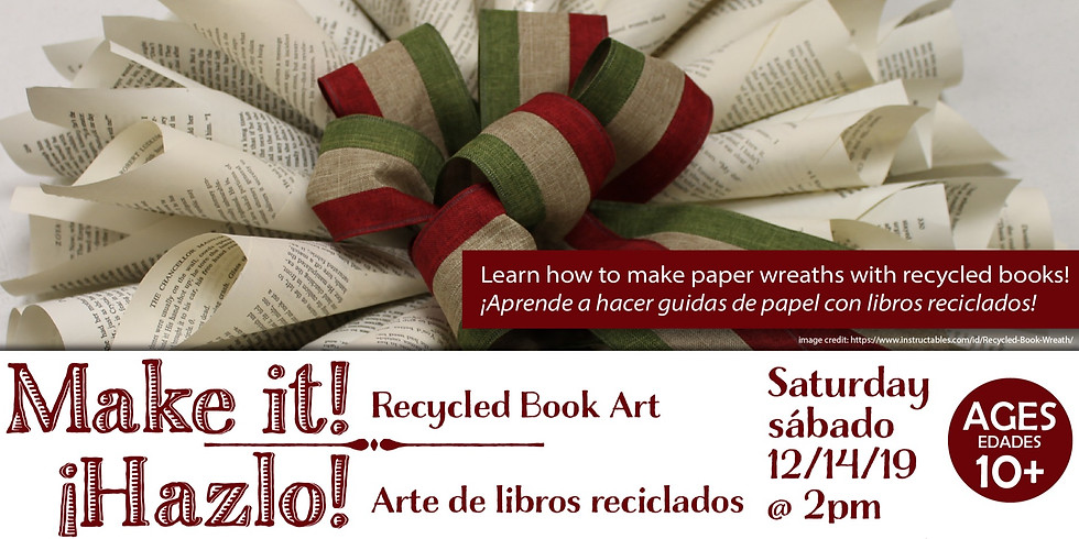 Make It! Recycled Book Art