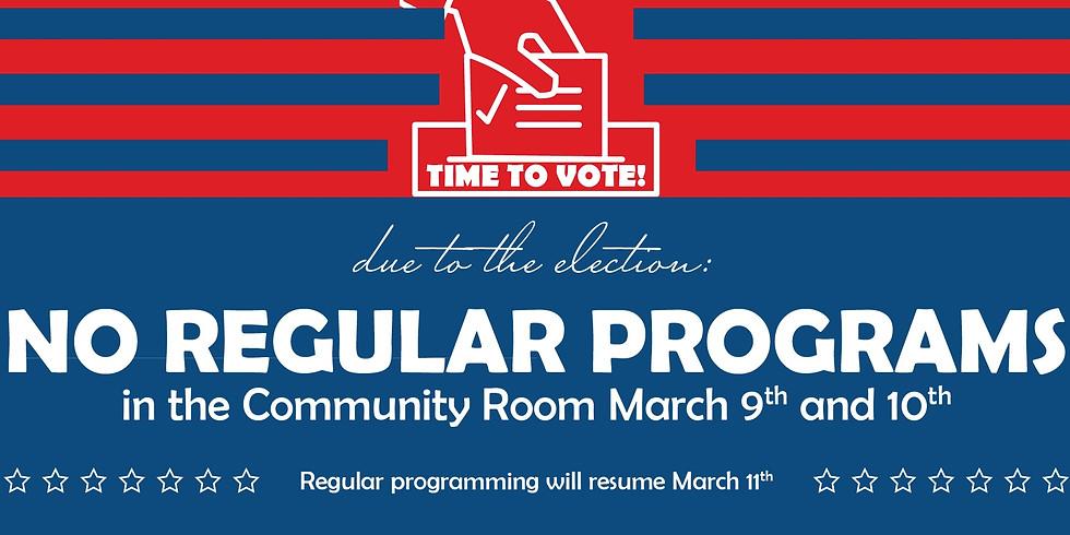 Elections: No Regular Programs