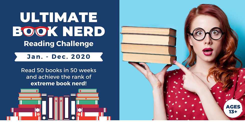 Ultimate Book Nerd Reading Challenge