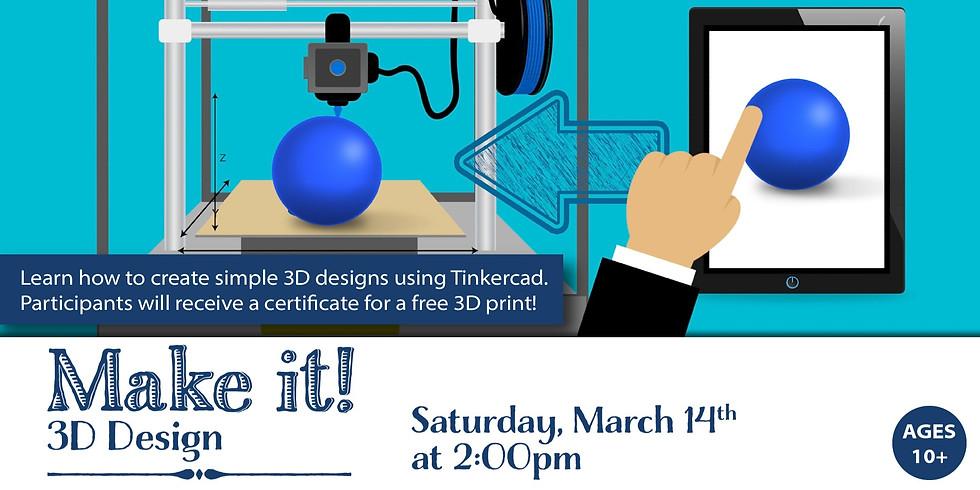 Make It! 3D Design