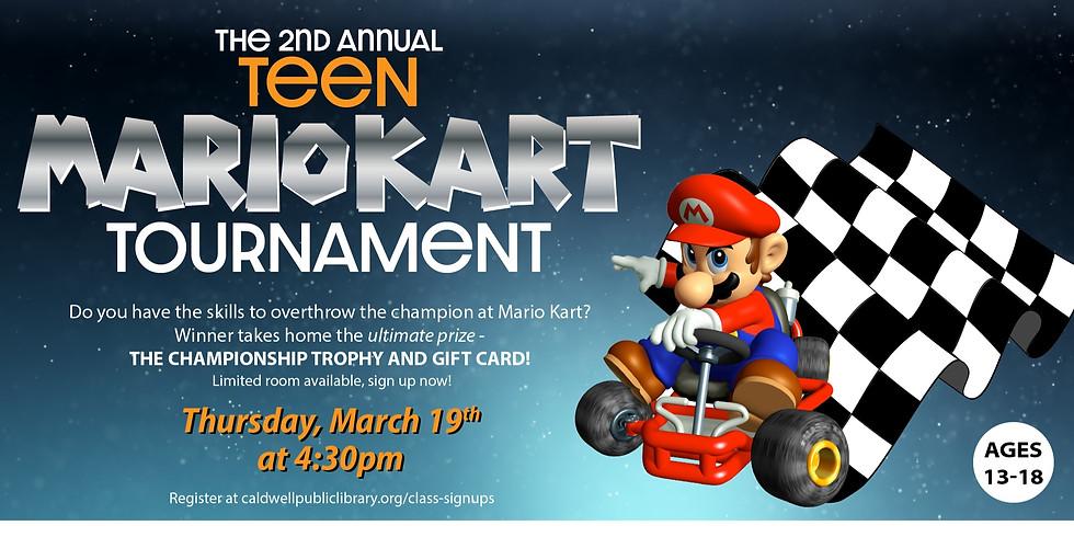 2nd Annual Teen MarioKart Tournament