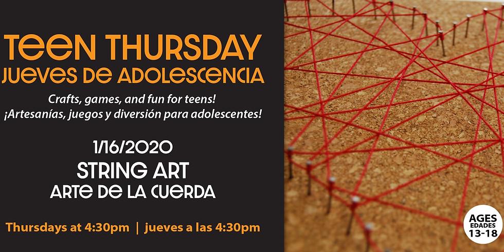 Teen Thursday: String Art