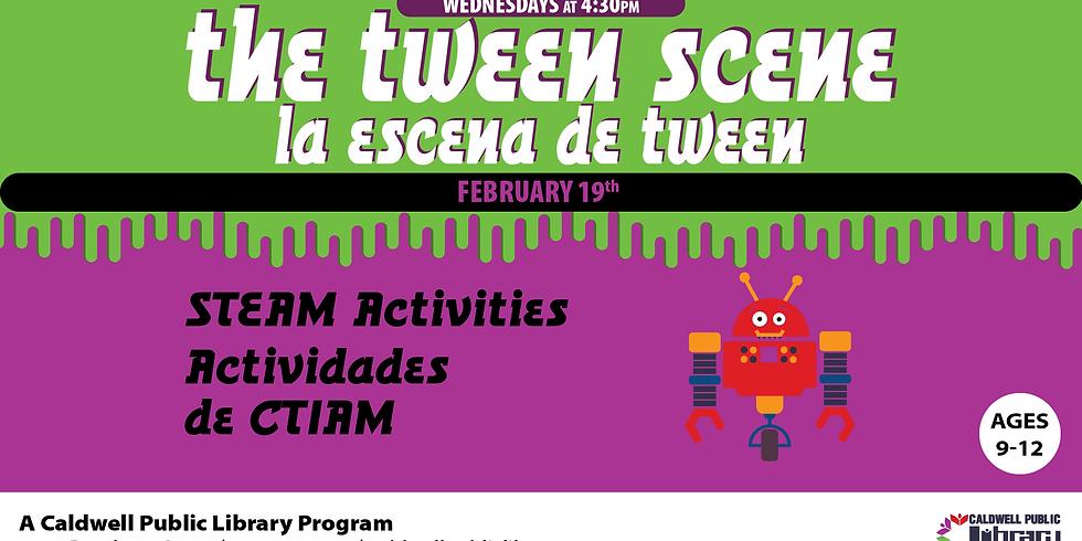 Tween Scene: STEAM Day