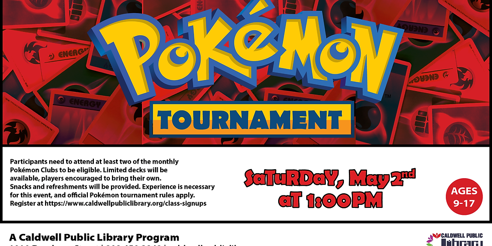 2nd Annual Pokémon Tournament