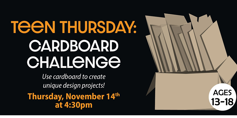 Teen Thursday: Cardboard Challenge