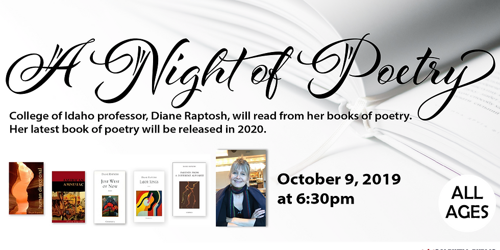 A Night of Poetry - Rescheduled