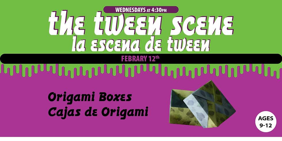 Tween Scene: Origami Boxes